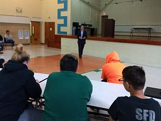 Rep. Scott Drury Answers Students' Questions