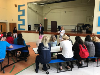 Congressman Answers Students' Questions