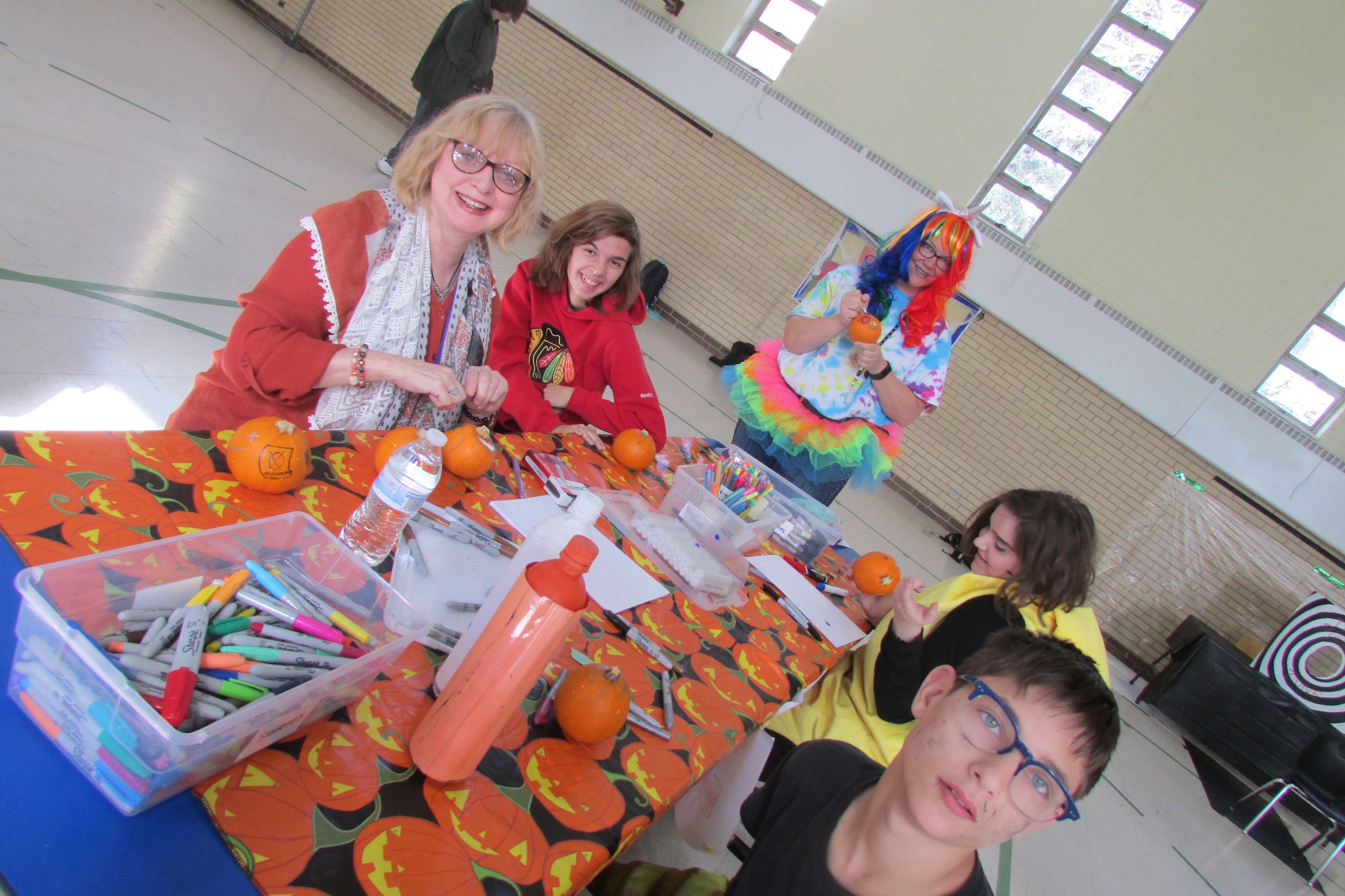 Decorating Pumpkins With Ms. Ramsayer
